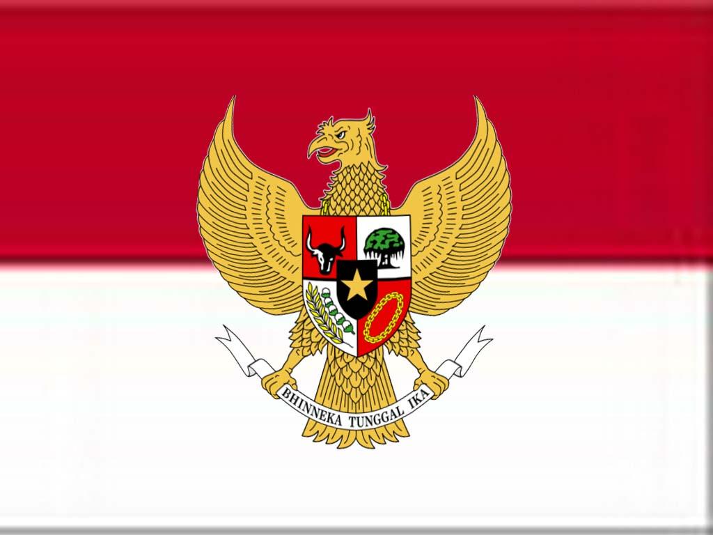 Indonesia and Monaco Flag